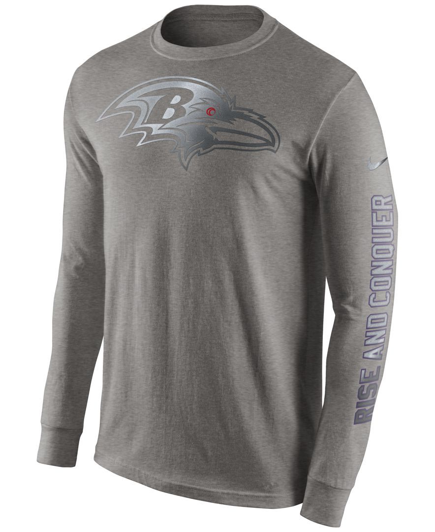 Nike Men's LongSleeve Baltimore Ravens Reflective TShirt