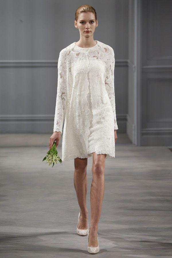 2017 Monique Lhuillier Wedding Collection New York Bridal Fashion Week