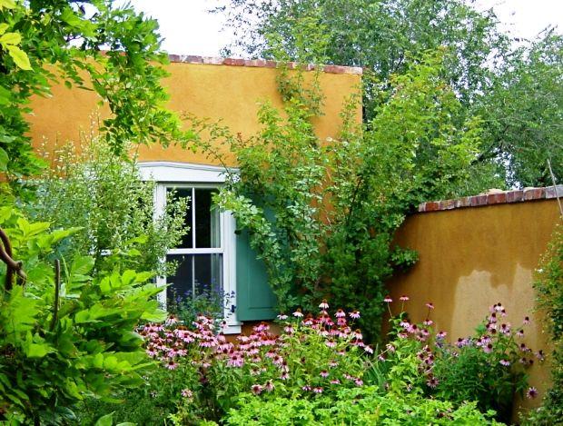 Santa Fe Gardens Secret Garden Behind Old Walls Photo