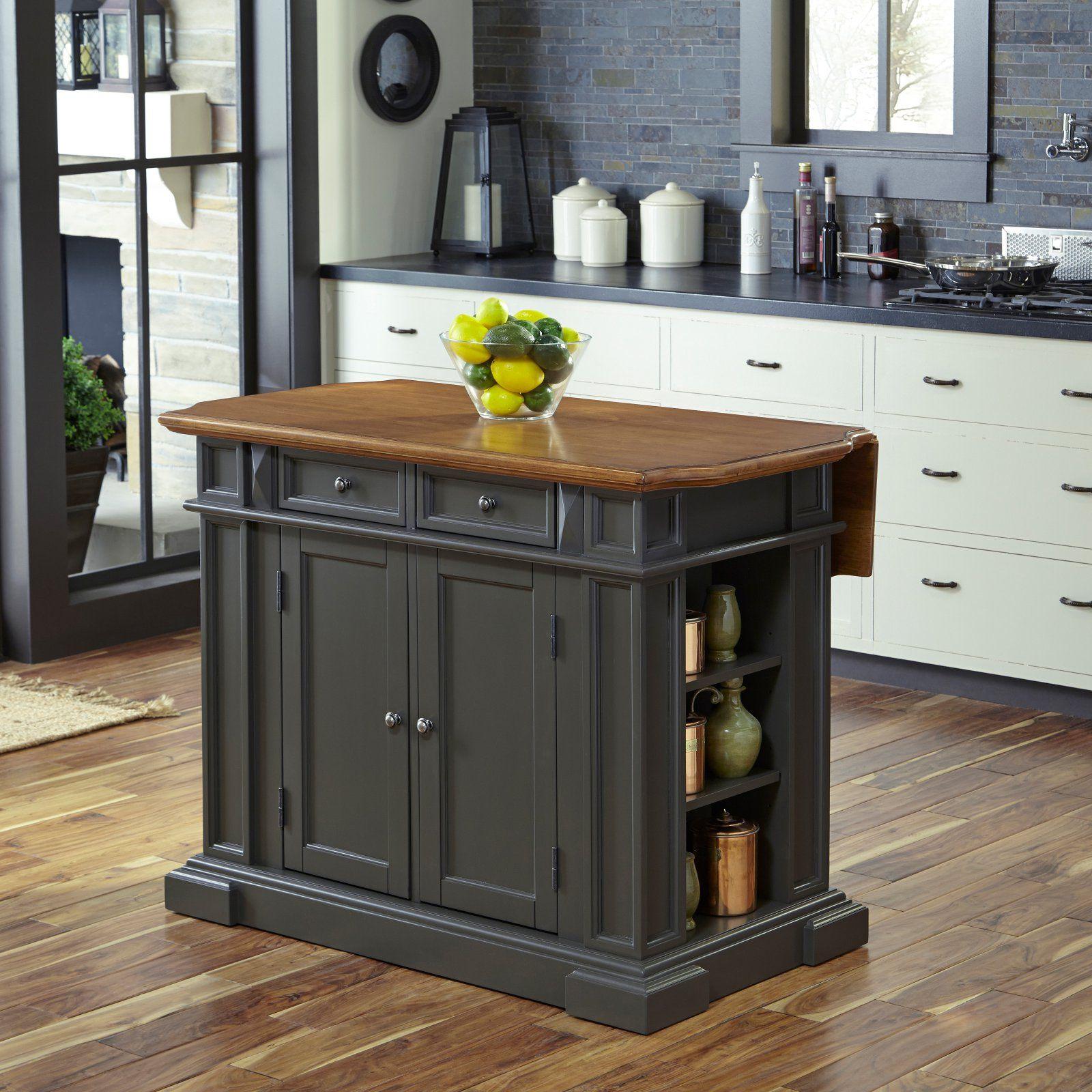 Home Styles Americana Kitchen Island Gray Grey Kitchen Island Kitchen Island Table Americana Kitchen
