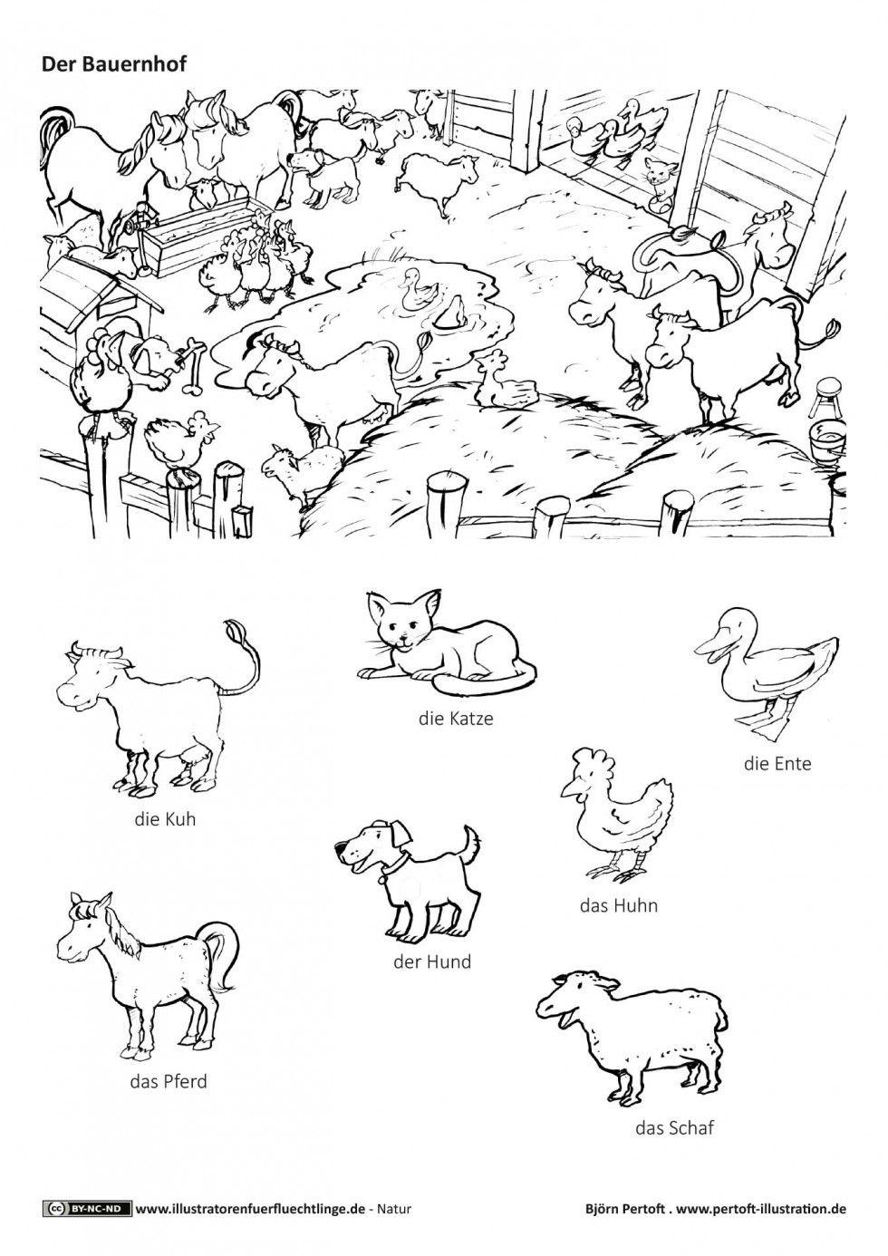 Natur - Bauernhof Haustiere Nutztiere Tiere - Pertoft | DEUTSCH ...