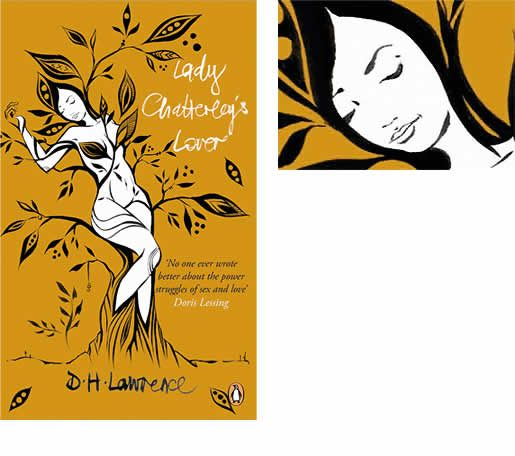 Lady Chatterley's Lover by D.H. Lawrence  Artist ~ Lucy McLauchlan  Lucy McLauchlan is a British artist who has exhibited in galleries, museums and underground events around the world. Her work focuses on improvised painting incorporating found objects into sculptures and murals.