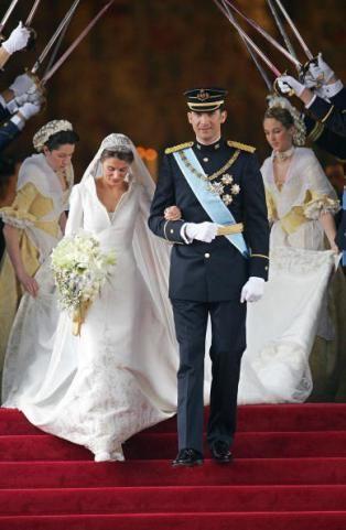 Principe Felipe de Asturias y Letizia Ortiz Rocasolano