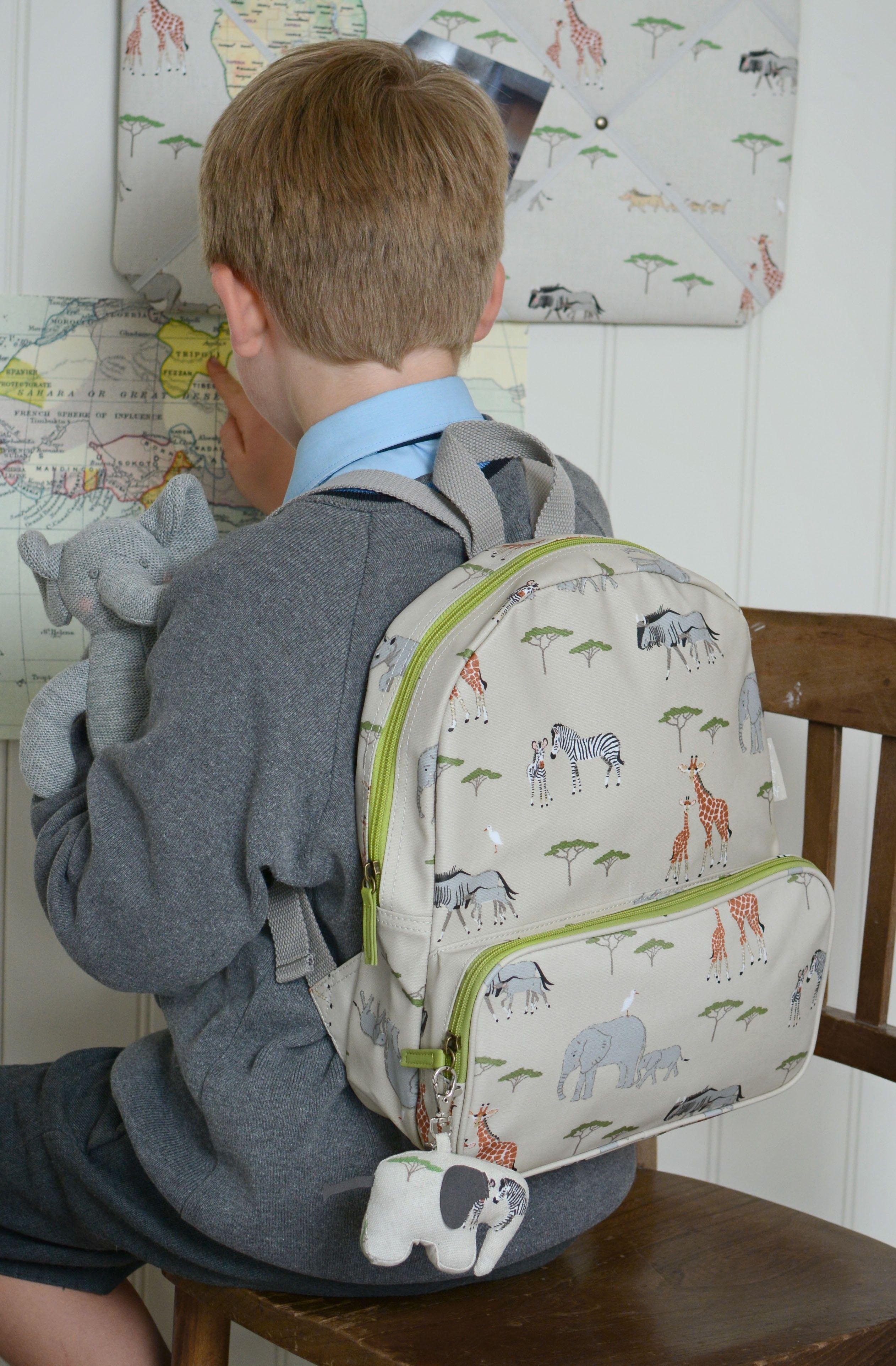 Safari Oilcloth Backpack  3b536a55cf719