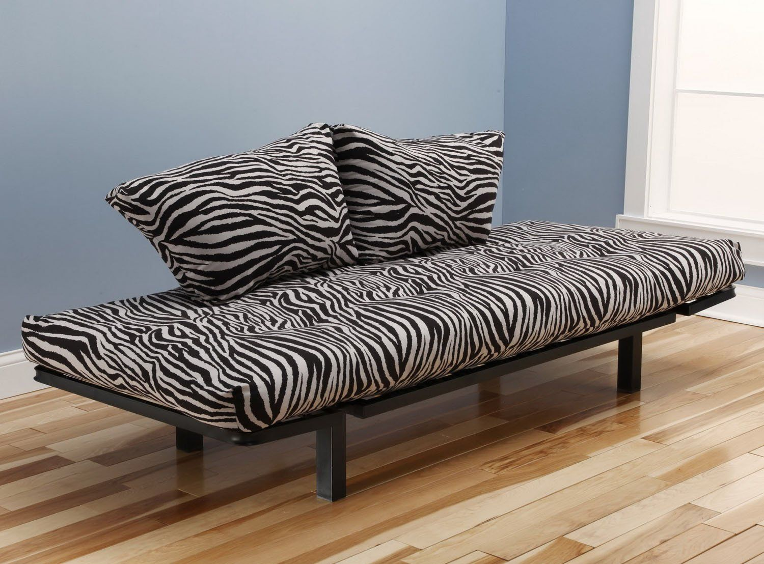 Capri Futon Lounger Zebra Zen Print Mattress See This Great Product Is An Affiliate Link