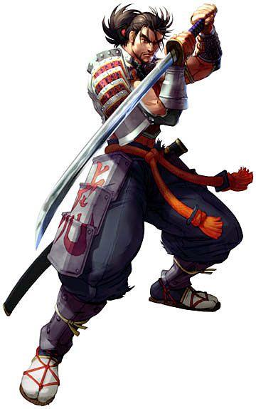 Soul Calibur II: Mitsurugi, samurai