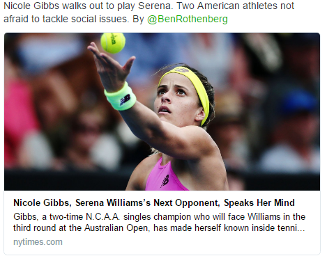 Public Relations For Tennis Players American Tennis Players Nicole Gibbs Tennis Players