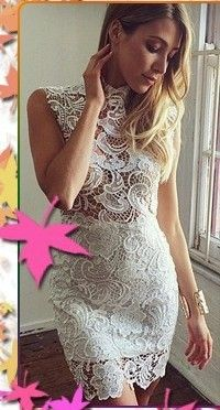 awesome #fashion #dress #apparel #clothing White Party Dresses New 2015 Elegant Long Sleeve Lace Patchwork Long Dress Women Floor-length Prom Dress Sexy Vestidos Femininos