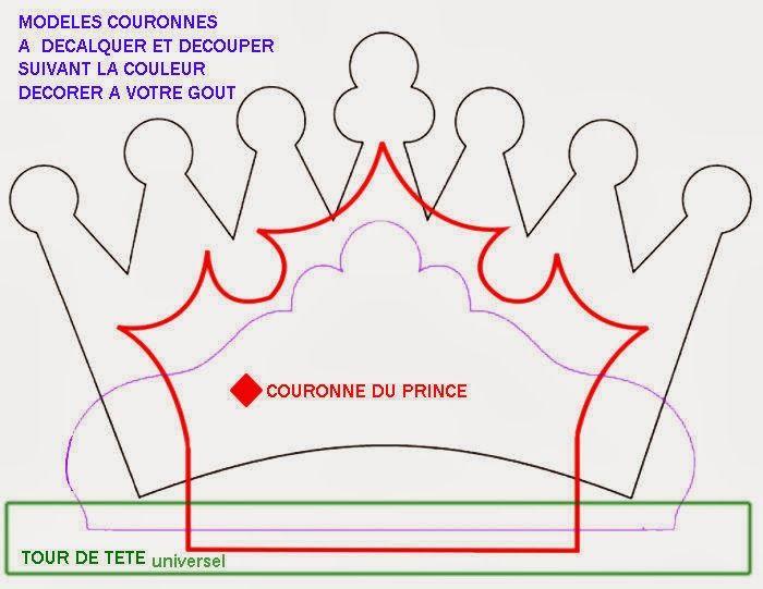 plantillas para hacer coronas fiestas crown