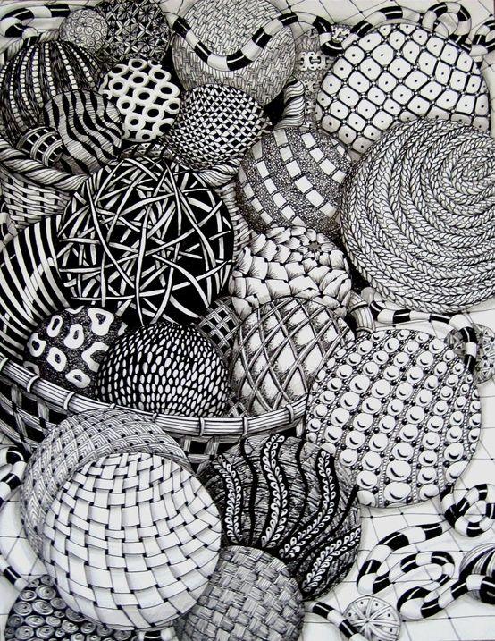 Zentangle Drawing Pinterest Zentangle Zeichnen Und Malen