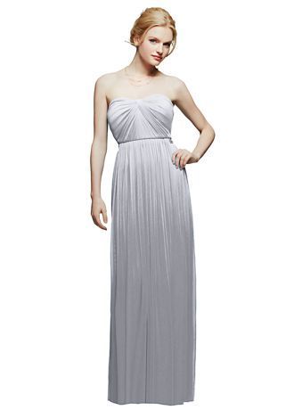 c5cb3bc390d Versa Convertible Mesh Dress Silver