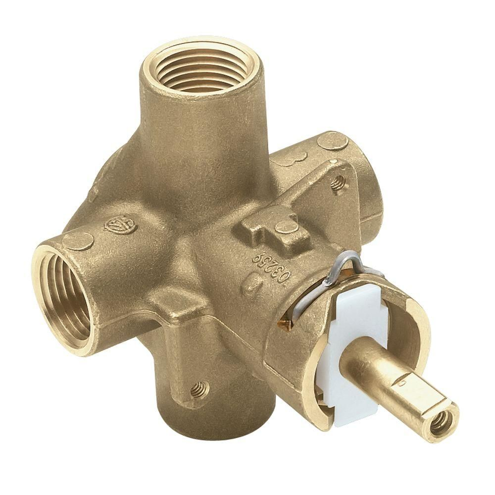 Moen Brass Rough In Posi Temp Pressure Balancing Cycling Tub And