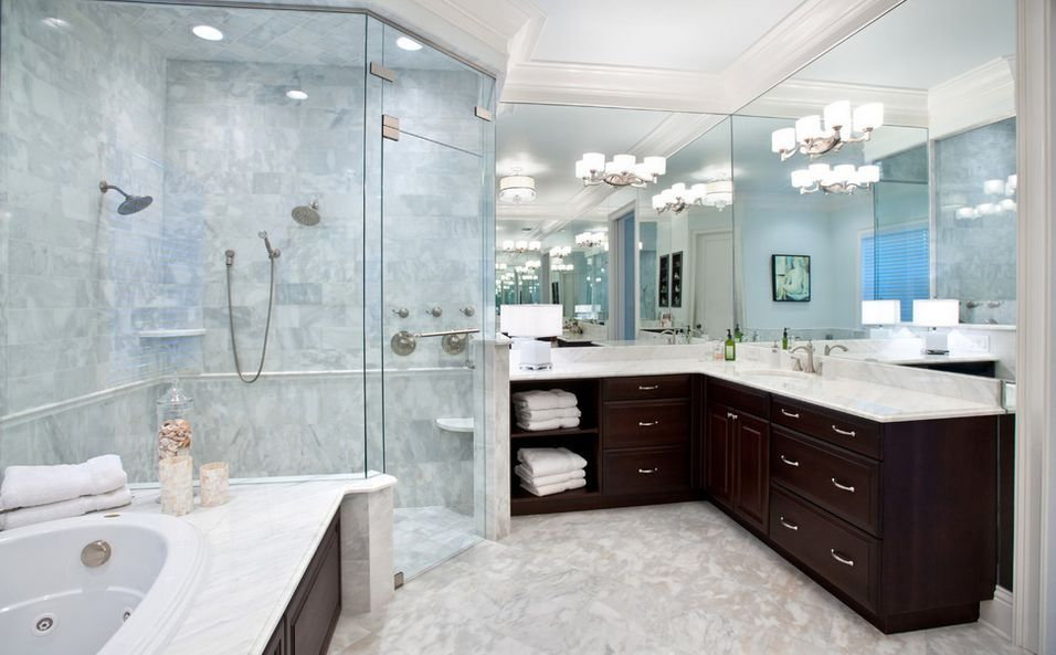 Corner Shower Configurations That Make Use Of Dead Spaces | Dead ...