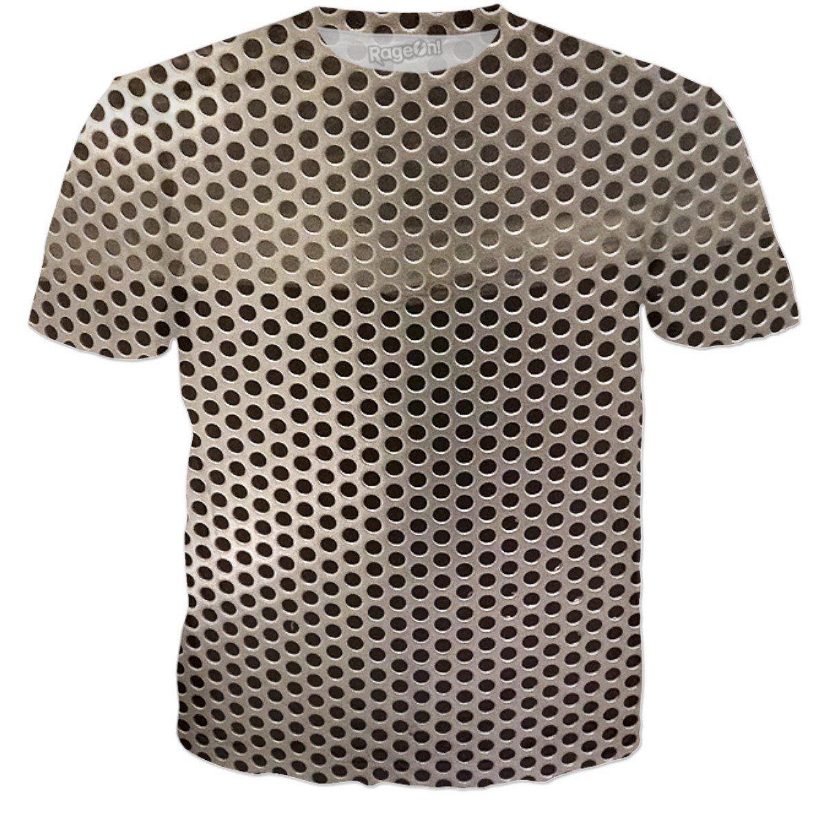 Steel mesh #metal #steel #iron #molding #clothingdesign #clothingline #sterlingvisions #podcast #merch #art