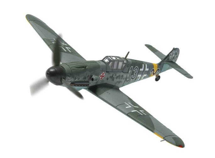 1/72 Corgi Luftwaffe Messerschmitt Bf 109G-2 Registration: 13+ Oberleutnant Günther Rall, Staffelkapitan 8./JG52, Gostanovka, Russia, August 1942 Limited Edition AA27106 NOTE: This is a pre-order, due