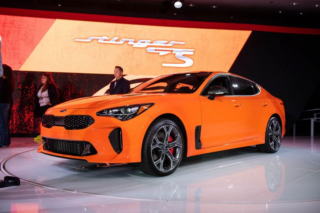 2019 Kia Stinger Gts 2019 New York International Auto Show Kia Stinger Kia Car