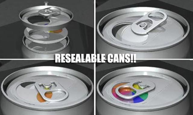 resealable cans