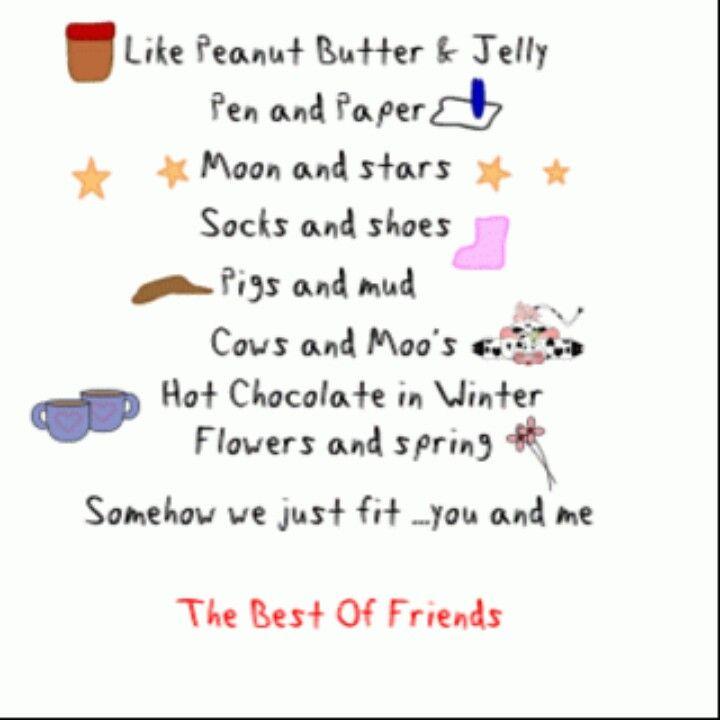 Best friends go together like friend birthday