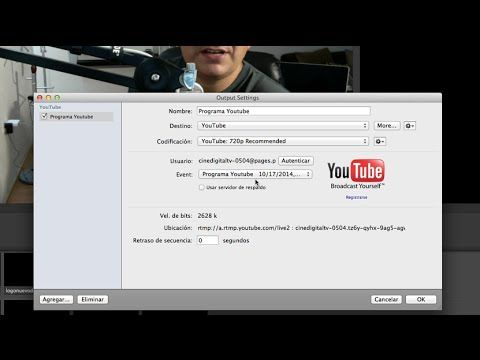 ¿Cómo configurar Youtube para hacer streaming en vivo? - YouTube