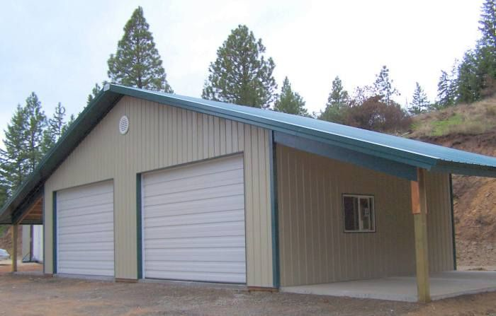 Metal agricultural shops and barns with living quarters for Building a shop with living quarters