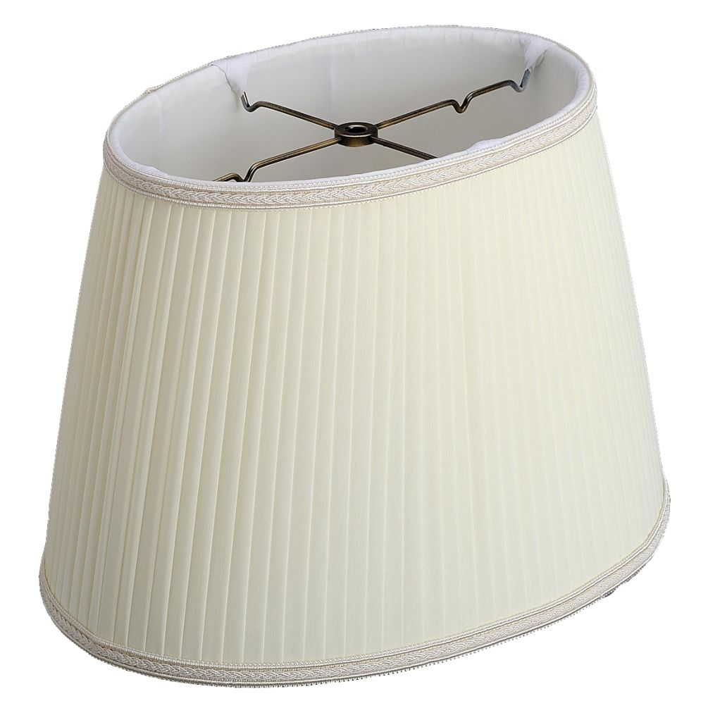 Side Pleated Silk Oval Lamp Shade Lamp Shade Lamp Pleated Lamp Shades