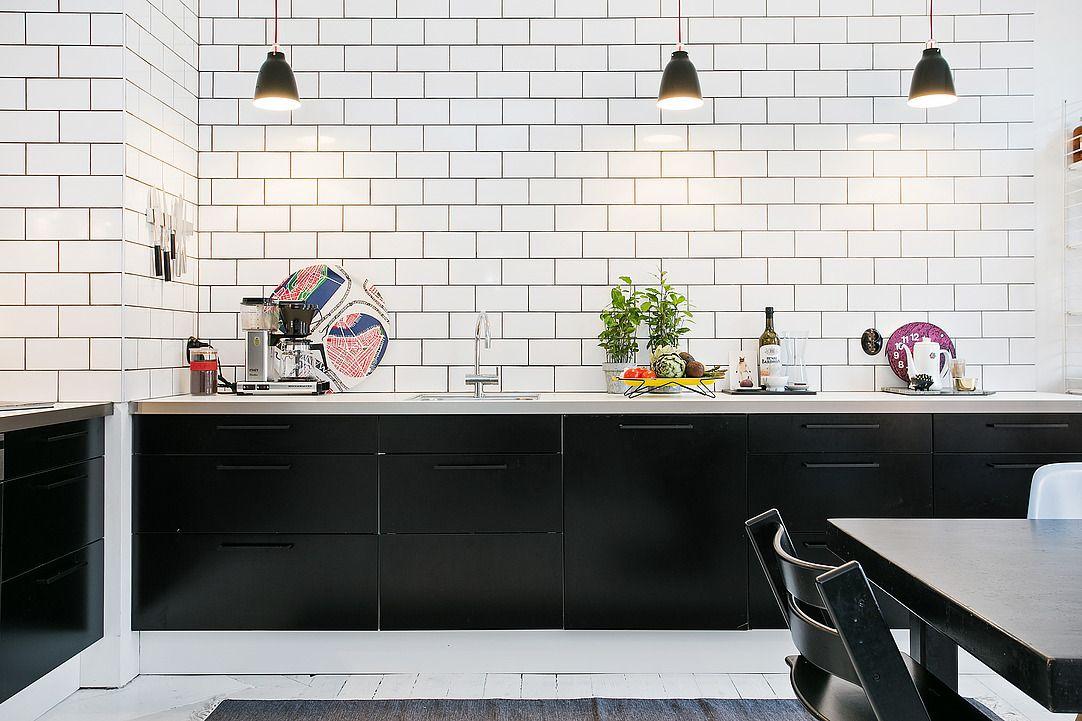 Contraste Coulis Fonce Avec Ceramique Blanche Decoration