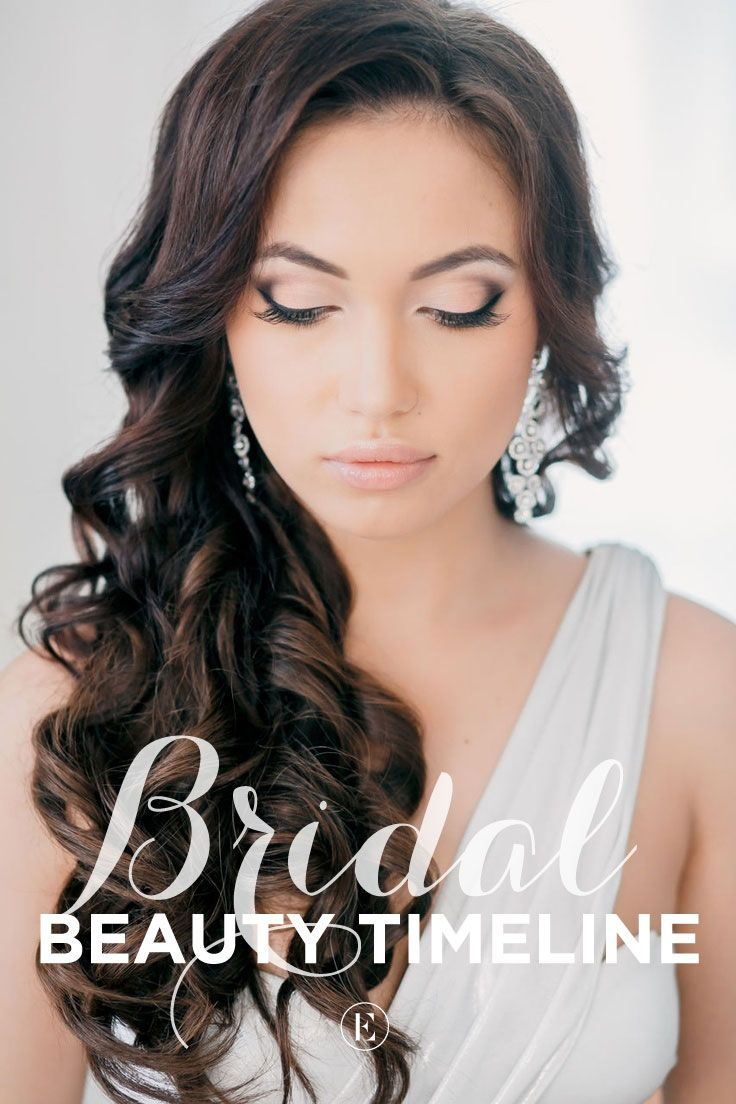 bridal beauty planning timeline (and how to do it on a