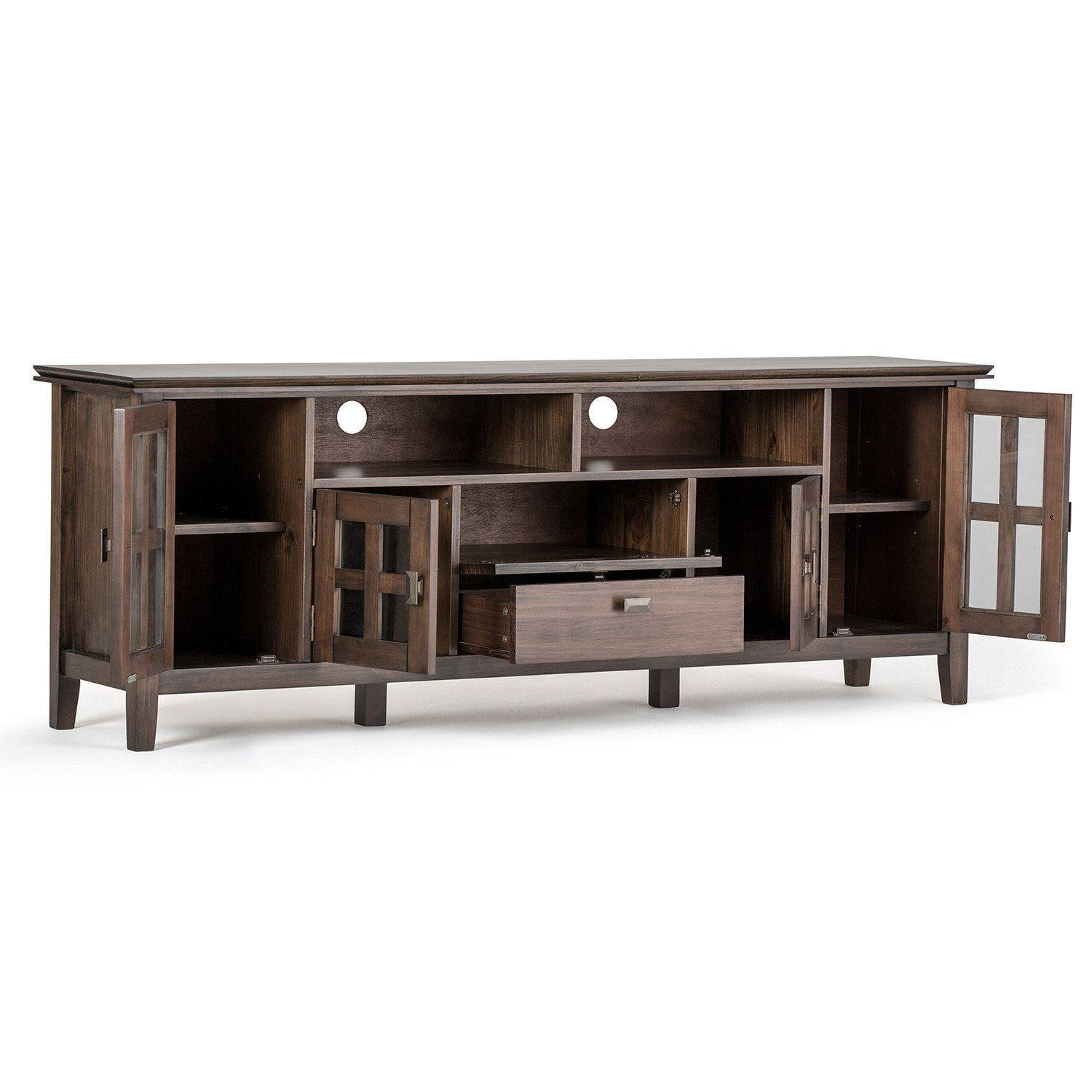 Artisan 72 inch tv media stand in 2020 tv media stands