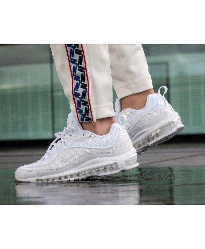 Nike Air Max 98 Homme Chaussures Blanc | Nike air max, Cheap nike ...