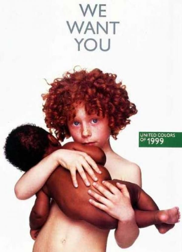 Vintage united colors of benetton l i t t l e s for Benetton we are colors