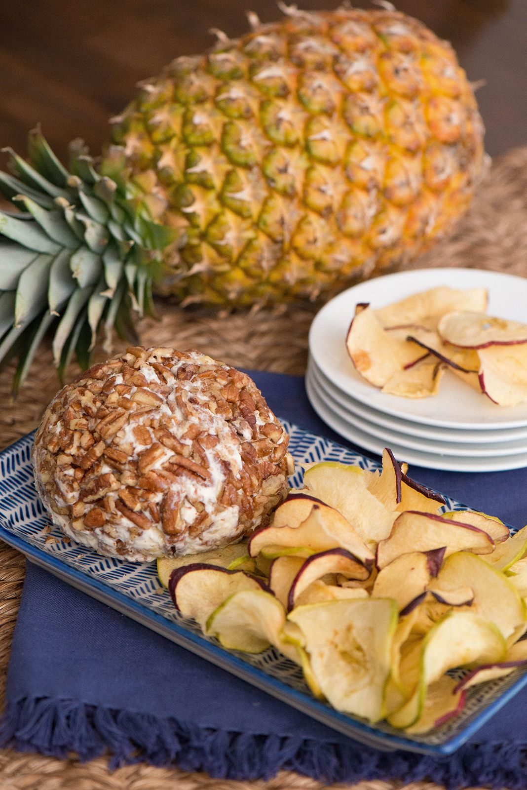 Pineapple Cheese Ball Recipe With Just A Few Ingredients You Ll Be Able To Prepare This Twist On The Classic P Recipes Cheese Appetizers Cheese Ball Recipes