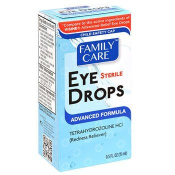 Family Care Advanced Formula Sterile Eye Drops 5 Oz Bottles