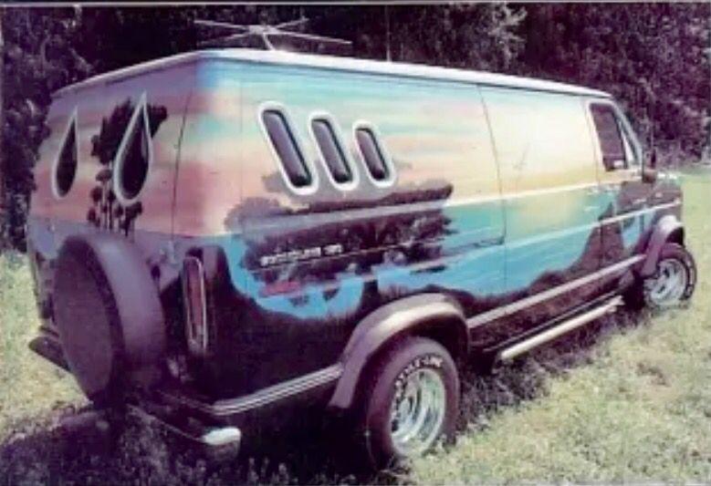 Customized 70 S Ford Van Ford Van Custom Vans Cool Vans Cool