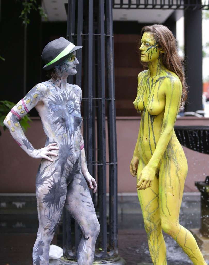 Nyc Bodypainting Day Body Painting Body Painting Festival Bodypainting