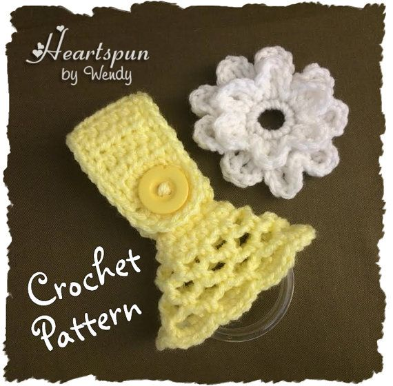 Crochet Pattern To Make A Kitchen Or Bath Towel Topper Ring With