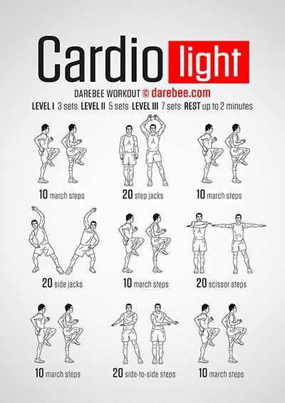 Cardio Light Workout Tap The Pin If You Love Super Heroes Too