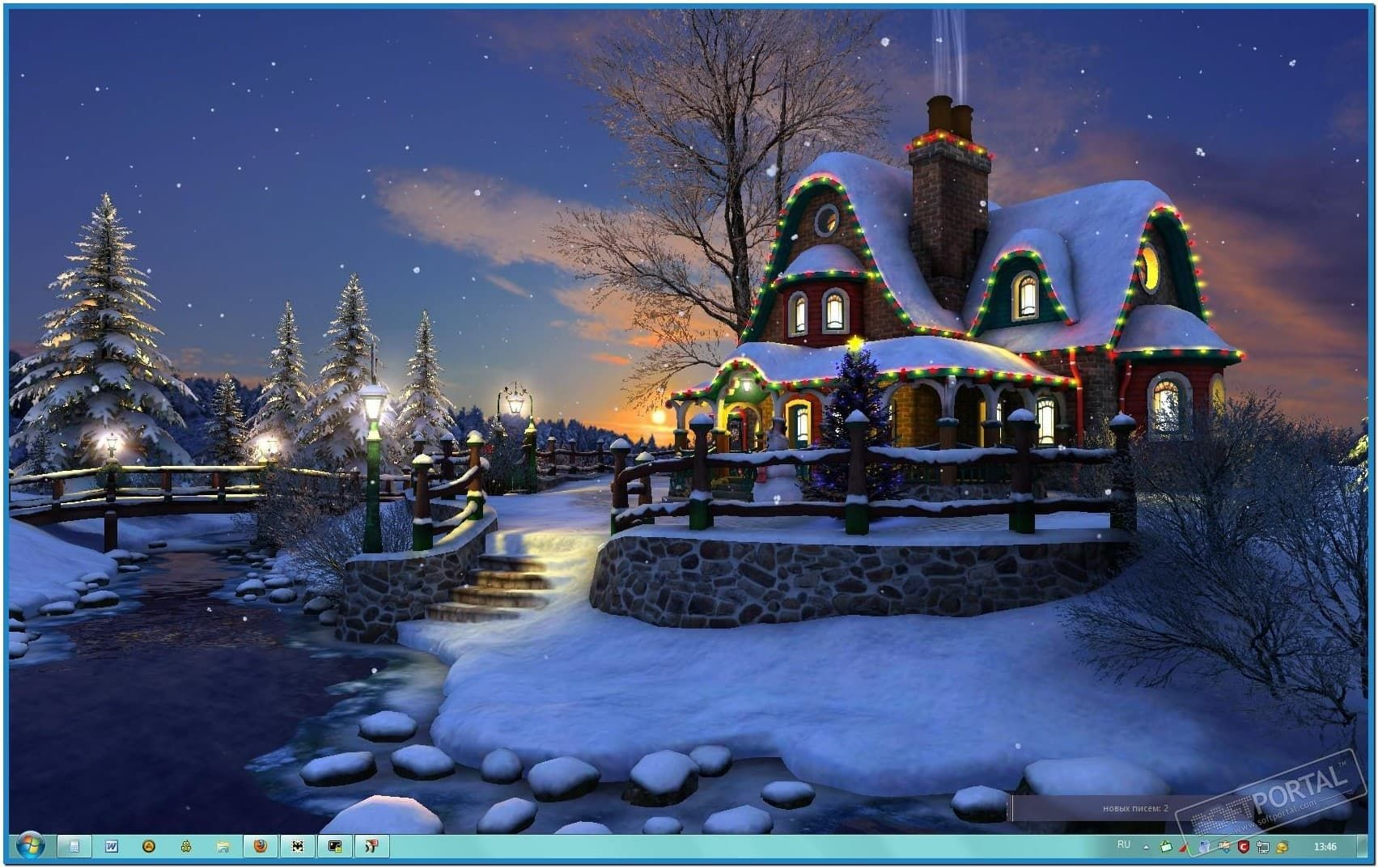 Falling Snow Live Wallpaper Tutorial 3d Animated Christmas Screensavers White Christmas 3d