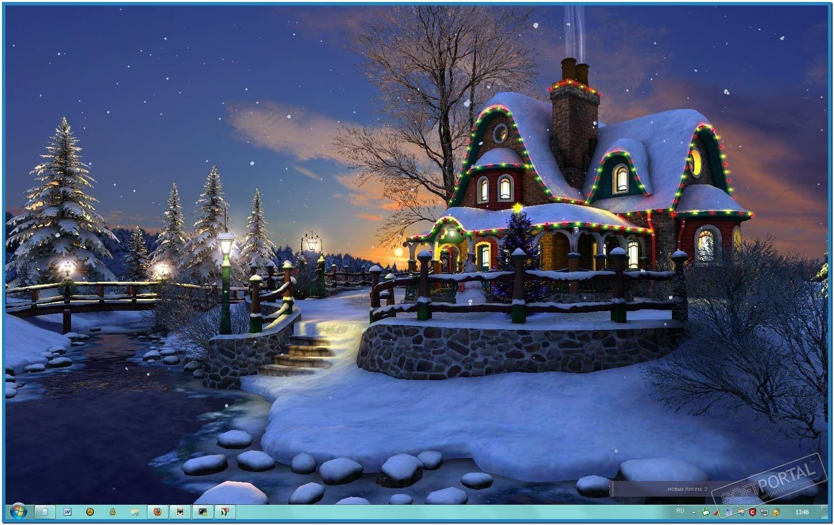 3D Animated Christmas Screensavers | Download image White ...