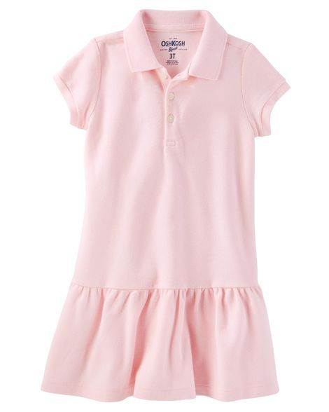 5651d16a Piqué Polo Uniform Dress | Products | Toddler school uniforms ...