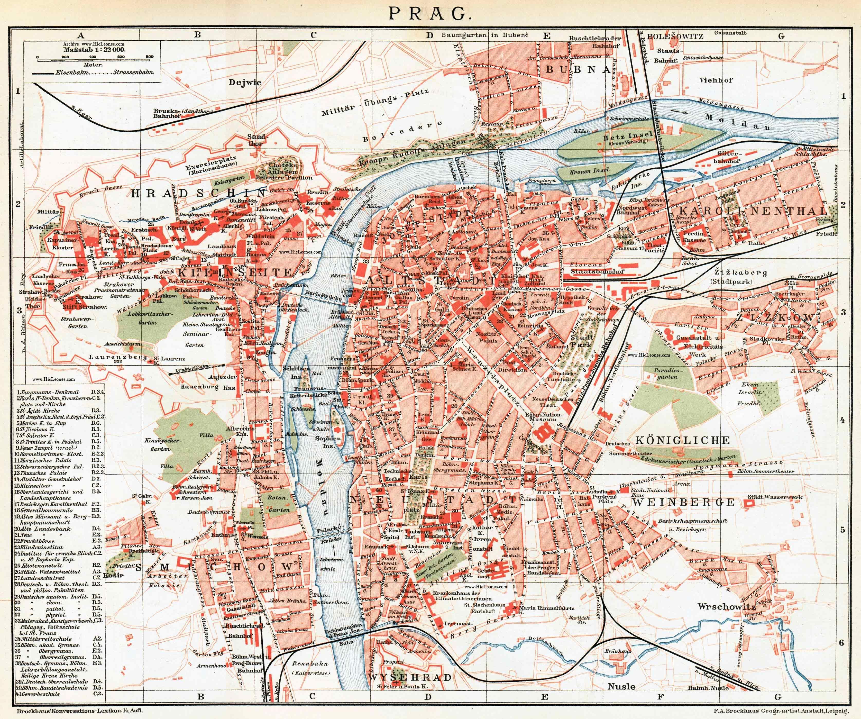 Free Maps Of Europe Print Stuff Prague Antique Maps City Maps