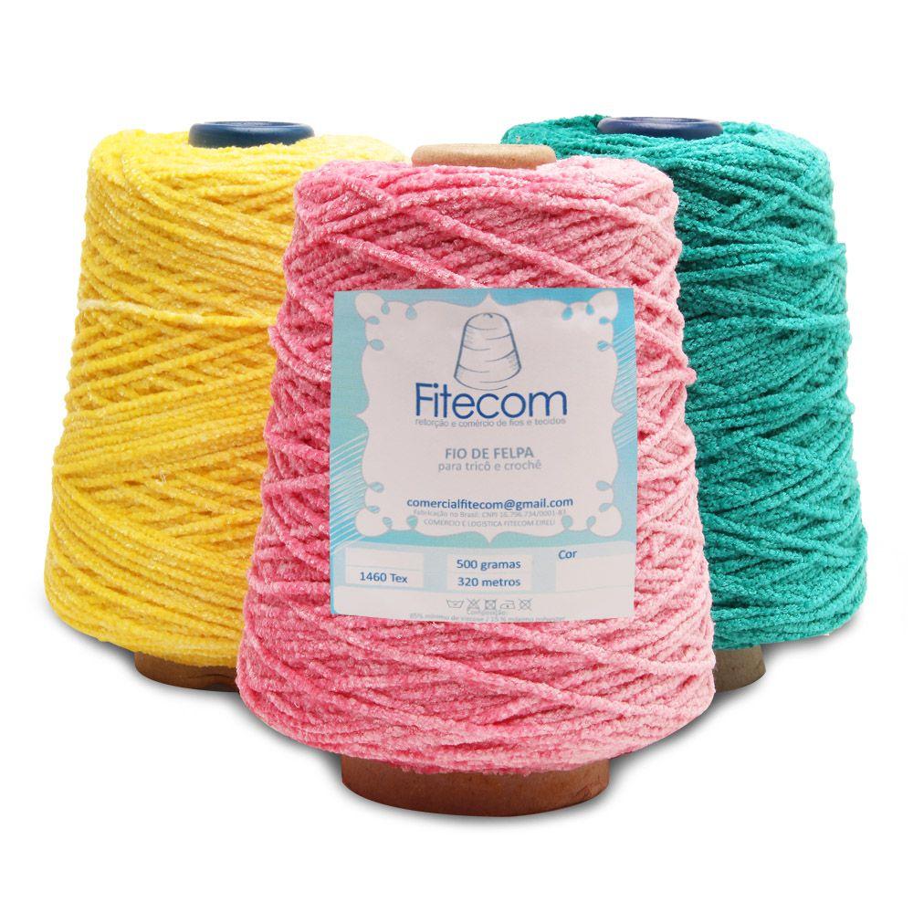 Fio De Felpa Fitecom 500g Armarinho Sao Jose Fios Boneca De Crochet Croche