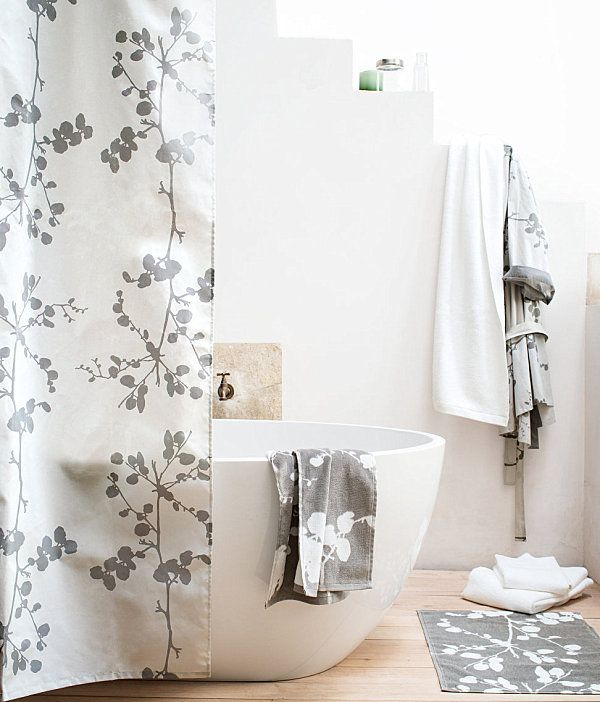 Refreshing Shower Curtain Designs For The Modern Bath Modern Shower Curtains Bathroom Shower Curtains Bathroom Remodel Shower