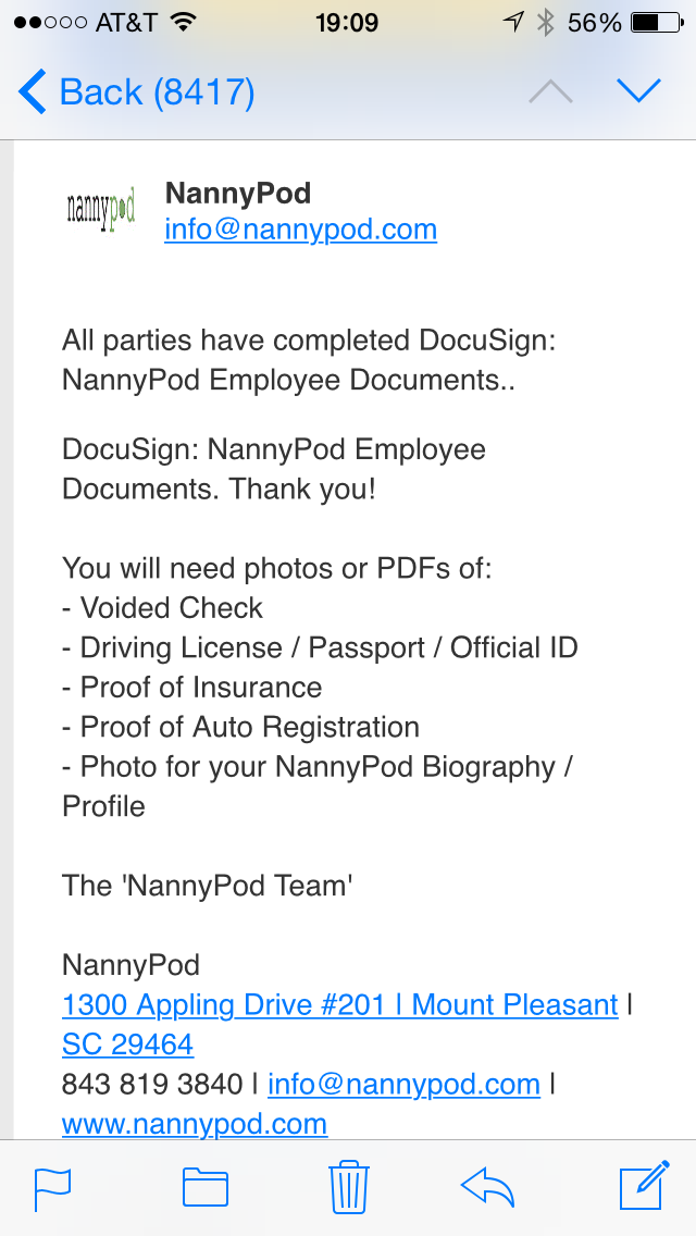 Nannypod Uses Docusign To Onboard Babysitters And Families