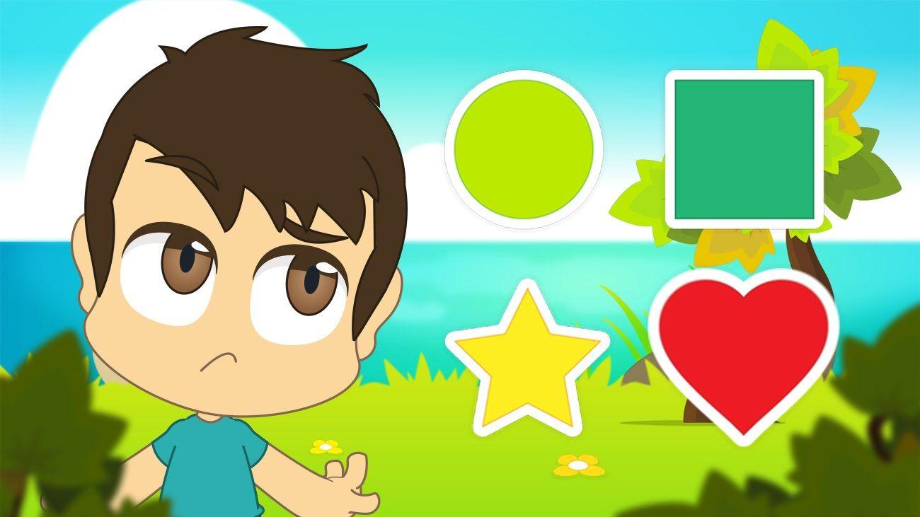 Learn Shapes In Arabic For Kids تعليم الأشكال للاطفال باللغة العربية Learning Arabic Kids Arabic Lessons