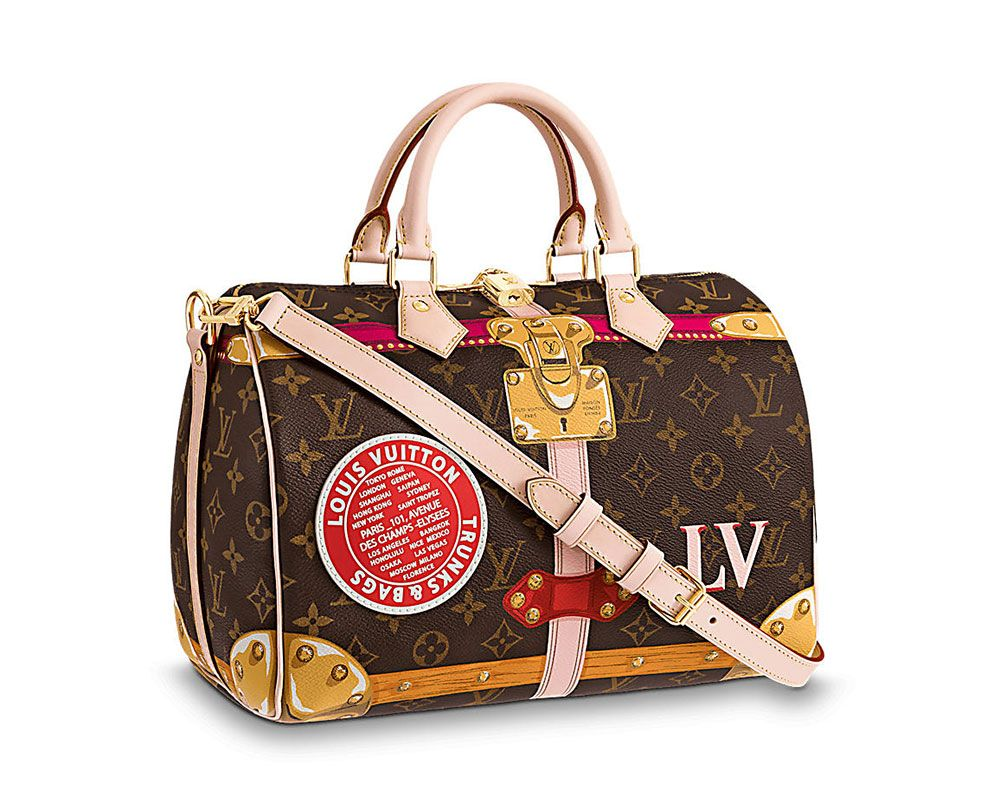 472459393c43 Louis Vuitton s Summer 2018 Capsule Collection Reimagines the Brand s  Classic Bags with Cartoon Details - PurseBlog