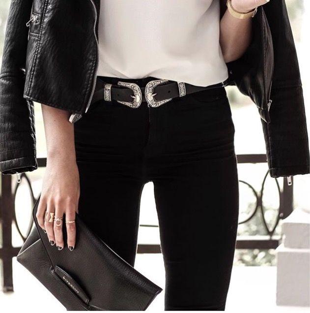 Correa Con Distintas Hebillas Cinturón Mujer Cinturones a la Moda Simples Casual