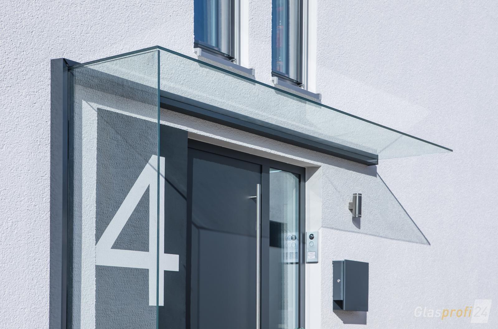 Glas Vordach Duravento Mit Integriertem Seitenwindschutz In 2018