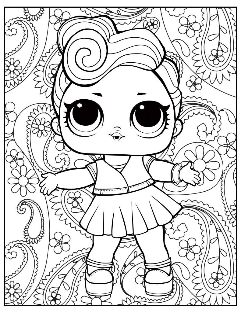 L O L Surprise Free Printable Coloring Pages Unicorn Coloring Pages Coloring Pages Free Coloring Pages