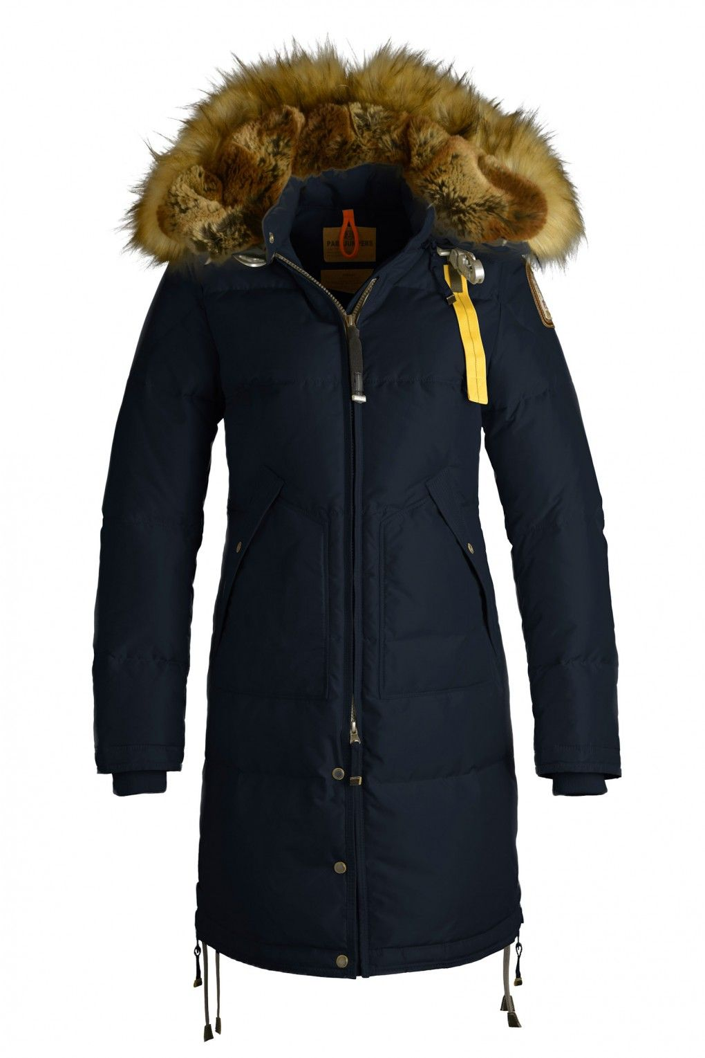 parajumpers women kodiak blue; long bear eco woman masterpiece eco outerwear woman parajumpers