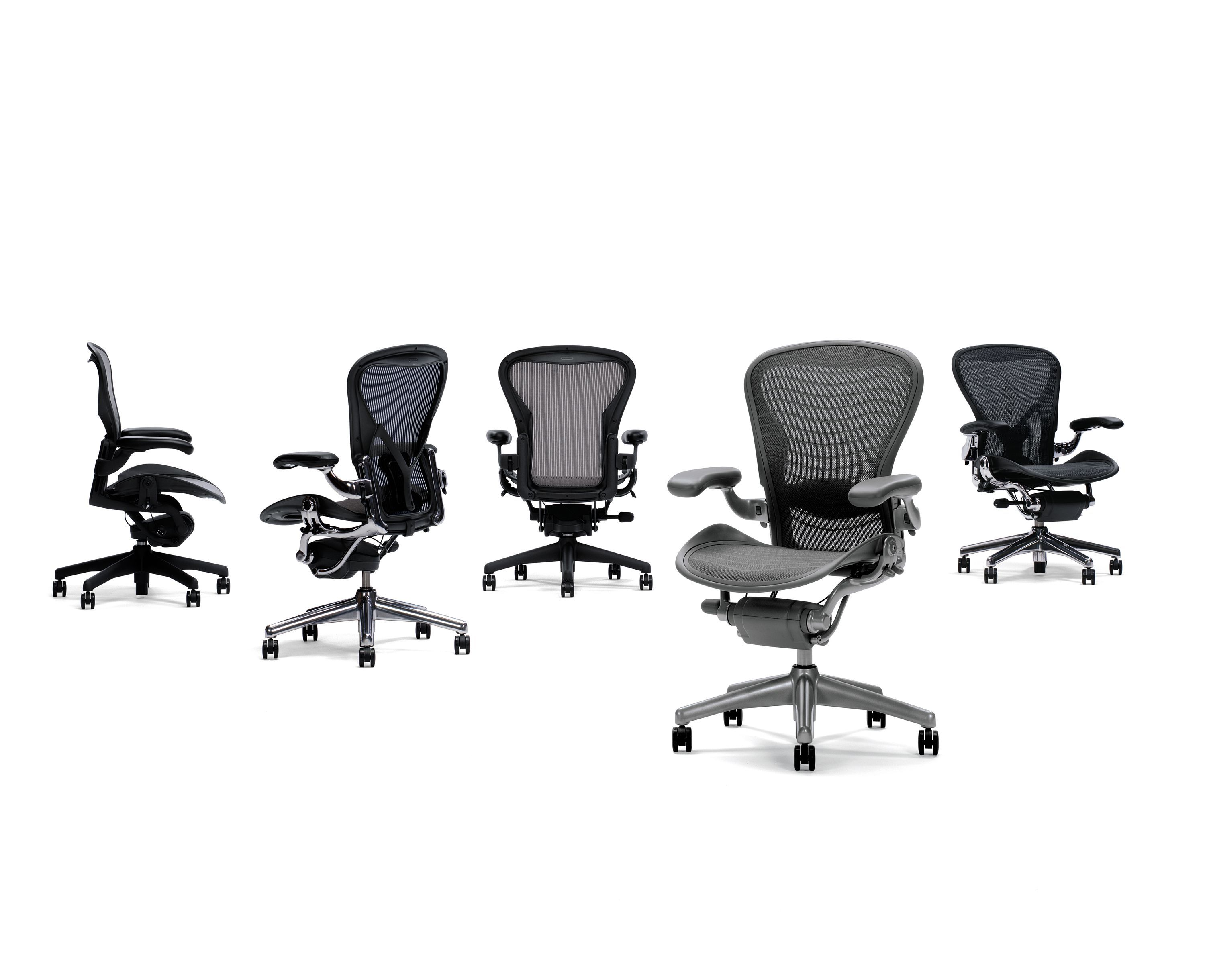 Herman Miller's Aeron Chair contains up to 55 recycled